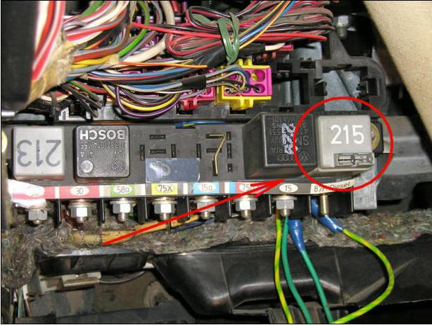 ke jetronic электрическая схема блока: