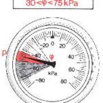 Измерения разряжения - изношенные поршневые кольца
