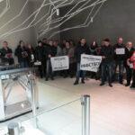 Мирный протест заемщиков Порше Мобилити