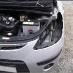 Снимаем фару Hyundai i10
