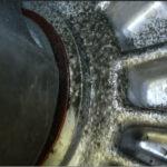 Течь масла из под сальника привода в коробке Hyundai i10