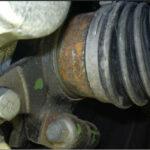 Большое количество ржавых деталей ходовой части Хундай i10